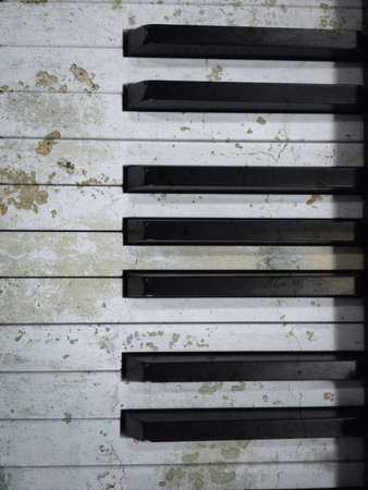 Piano wood texture effect