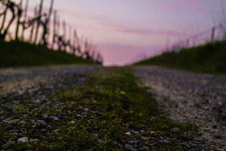 Een eenzame straat
