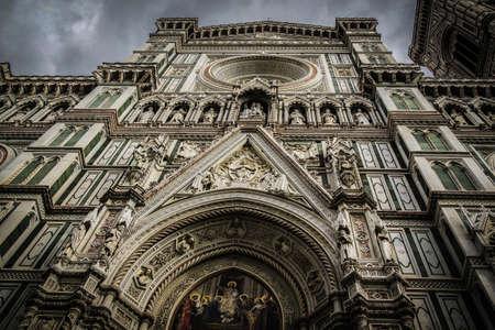 voor de Duomo Stockfoto