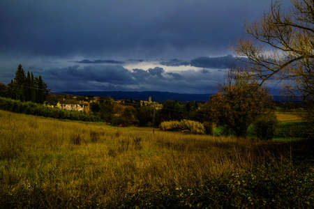platteland Stockfoto