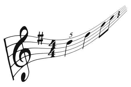 zahlen: Musiknoten