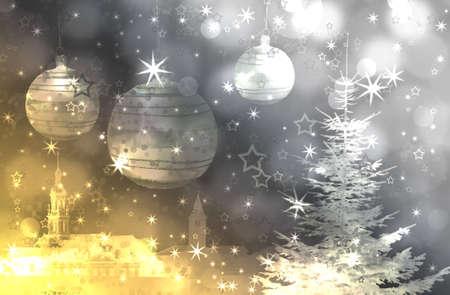 hintergrund: Weihnachtszeit