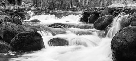 Long exposure shot at Rio Pedras, Pobra do Caraminal