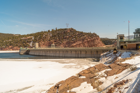 Flaming Gorge Dam, Utah