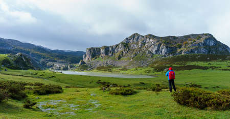 Hiking in Lagos de Covadonga natural park