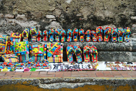 hand crafted: Colorful hand crafted souvenirs