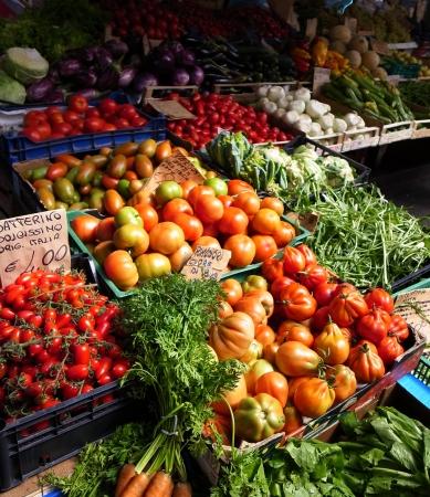 farmer's market  market: Italian framers market Stock Photo
