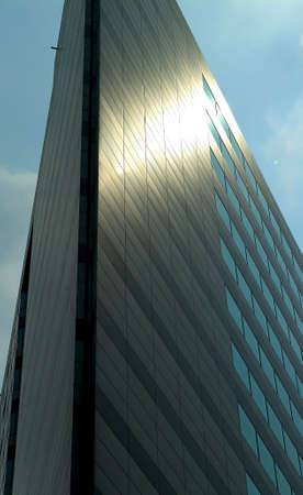diminishing point: Office building