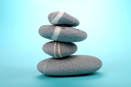 stack of 4 rocks photo