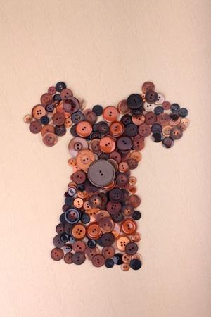 textile image: button clothes