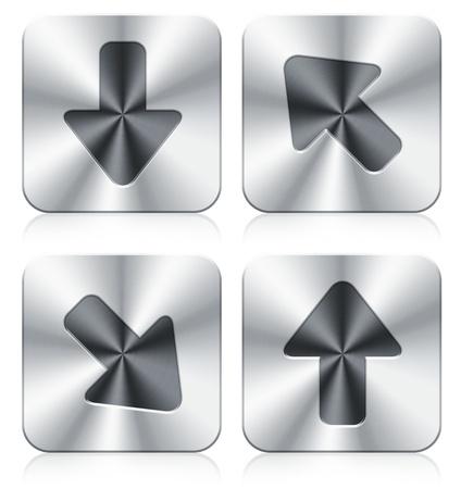 arrow icons Stock Photo - 9761758