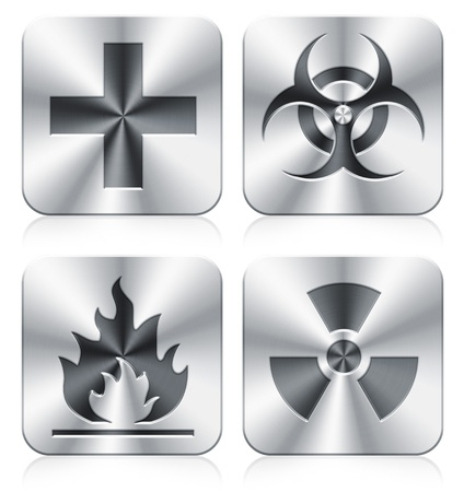 medical and danger icons Stock Photo - 9761776