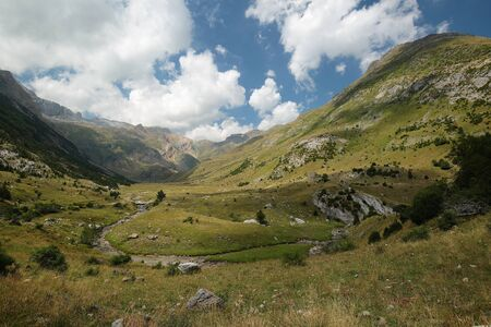 pyrenees: PYRENEES LANDSCAPE Stock Photo