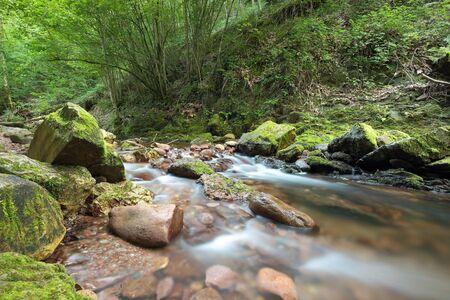 navarre: river in Spain Navarre Erratzu Stock Photo