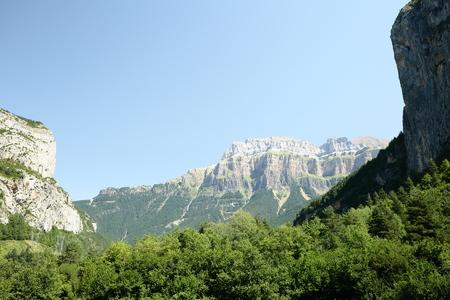 perdido: Ordesa and Monte Perdido in the Pyrenees of Huesca.