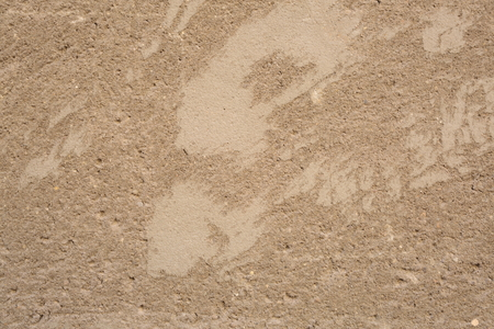 gritty: without smoothing cement wall background Stock Photo