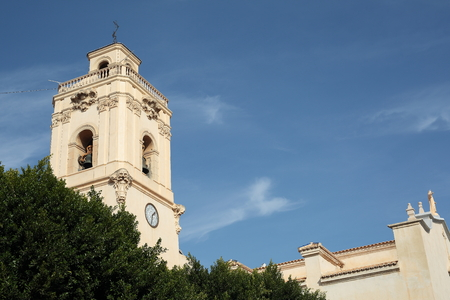 quenching: Parish of Saint Johns in Catral, Alicante, Spain