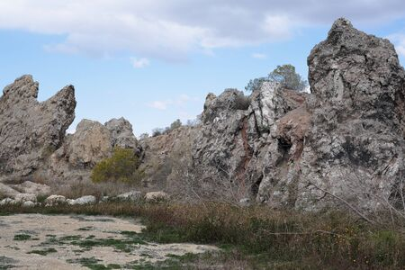 Montañas Rocosas en Aspe, Alicante, España