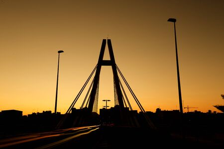 Bridge of the Generality in Elche, province of Alicante in Spain.