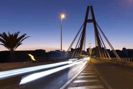 Puente de la Generalidad en Elche, provincia de Alicante en España.