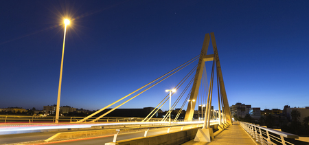 Bridge of the Generality in Elche, province of Alicante in Spain.