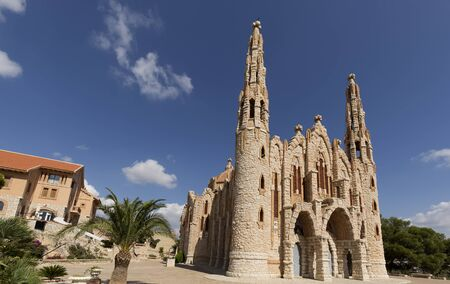 Sanctuary of Maria Magdalena in Novelda, province of Alicante in Spain.