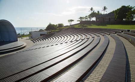 Teatro de Puerto Plata on the seafront Stock Photo - 96893852