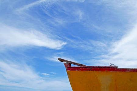 푸른 하늘 배경으로 출국 스톡 콘텐츠