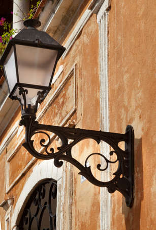 Franciscan colonial convent lamp
