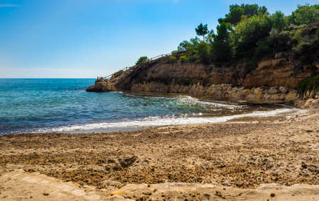 Small beach (cala) in l'Ametlla de Mar