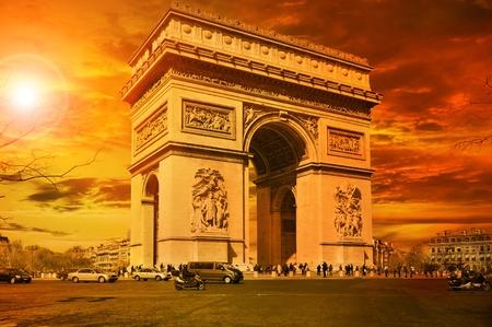 Arc de Triomphe Paris Stock Photo - 13194200