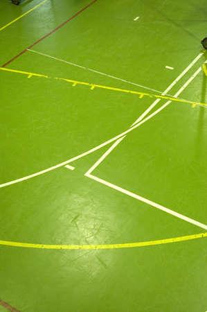 salle de sport: Sports sol du hall de d�tails