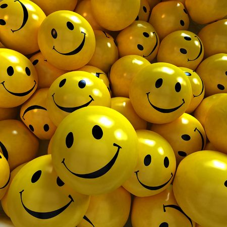 shinny: Lots of yellow happy smilies together