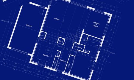 appartment: appartment blueprints Stock Photo