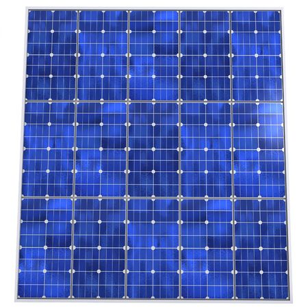 Solar panel pattern background photo