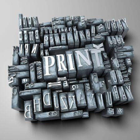 print: Word drucken drucken Schreiben F�llen
