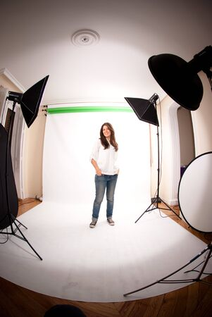 Making off of a photo session  Stock Photo - 6227239
