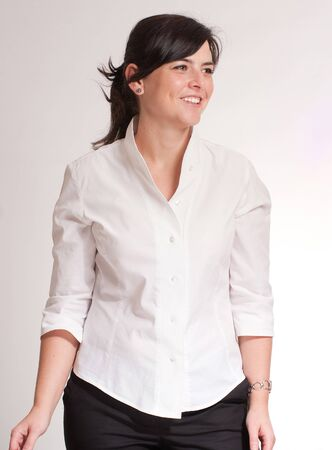 Portrait of a professional woman against a white background Stock Photo - 7088927