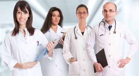 medical staff: Group of healthcare professionals in a healthcare environment