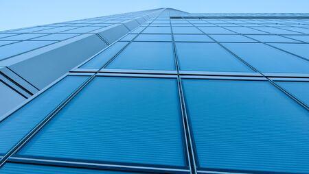 Detail of a modern skyscraper photo