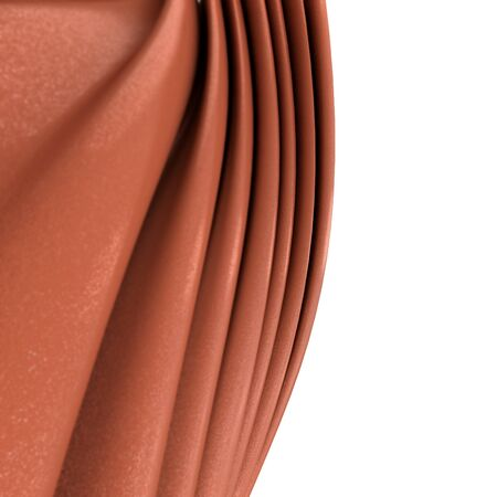 rippled: An abstract milk chocolate rippled texture Stock Photo