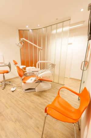 Modern orange dentist cabinet Stock Photo - 16036589