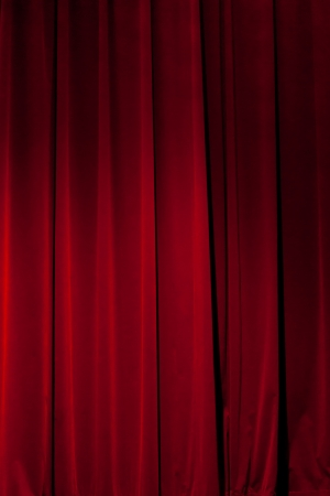 sipario chiuso: Tenda ideale rosso per sfondi e texture