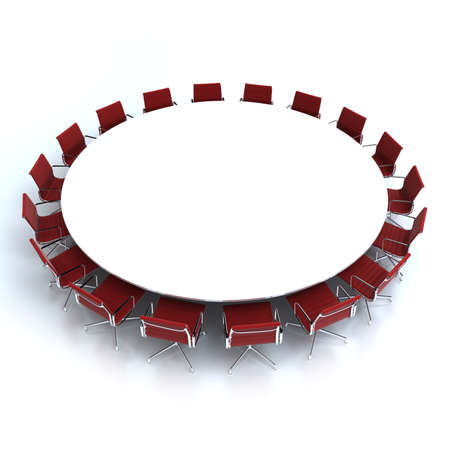Round Conference Table And Chairs Round Conference Table