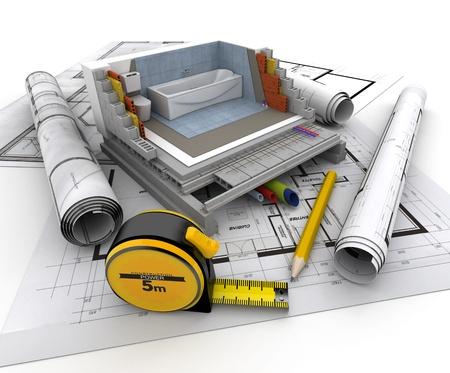 renovation de maison: Les d�tails techniques de la construction de maisons, WC