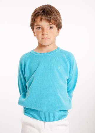Cute little boy dressed In summer clothes  Stock Photo - 18355287