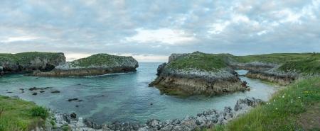 Beautiful inlet in Asturias, Spain photo