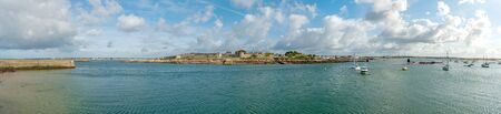 tourist feature: Port  Louis from the water Editorial