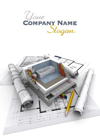 slogan: Los detalles técnicos de la construcción de viviendas, servicios