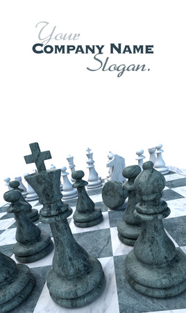 ongoing: Ongoing chess game with a pawn down